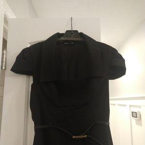 Black Halo Jacket Dress